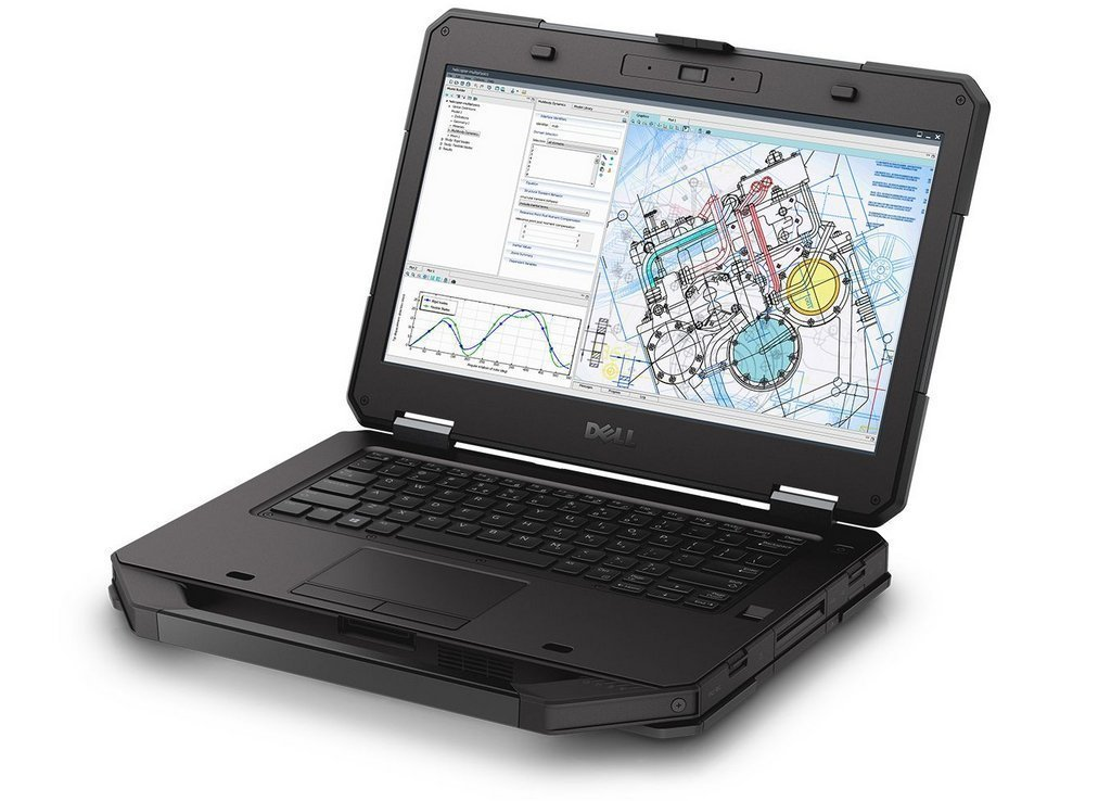 Touch Screen Laptop Dell Laude 14 5414 Rugged Extreme