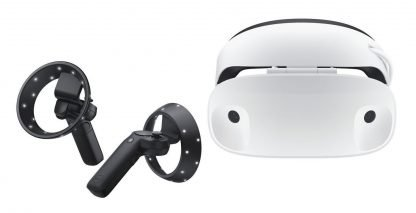 Dell Visor Virtual Mixed Reality Headset With Controllers