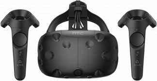 HTC Vive VR Virtual Reality Headset System with controllers