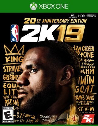 Take 2 NBA 2K19 20th Anniversary Edition Xbox One