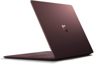 microsoft surface laptop 1st gen burgundy