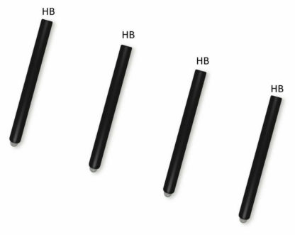 4X HB Tip Nib Refill Replacement Stylus Pen For Microsoft Surface Pro 6 5 4