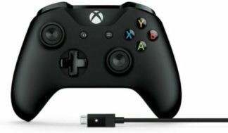 Microsoft wireless xbox controller and PC cable