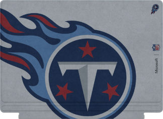 Microsoft Surface Pro Type Cover Keyboard NFL Edition Tennessee Titans_2